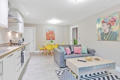 Ocean Walk Apartment - Kitchen / Lounge / Dining