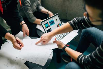 corporate event ideas - team work