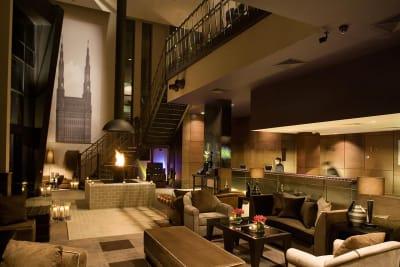 Malmaison Hotel, Liverpool seating area