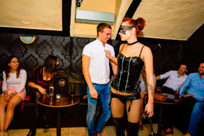 Dominatrix Show, Stripper, Budapest