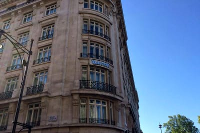 Marriot Londn Park Lane - exterior