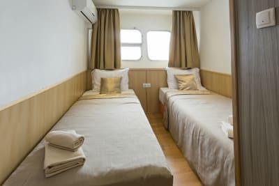 Botel - bedroom