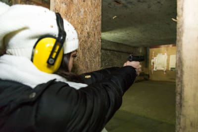 Riga Target Shooting Guns Glock Hen