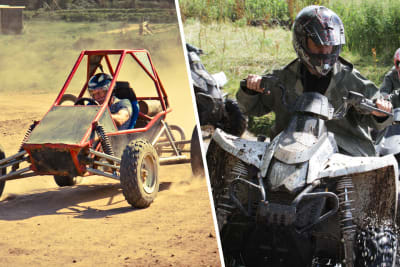 A multi activity day with buggies and quads