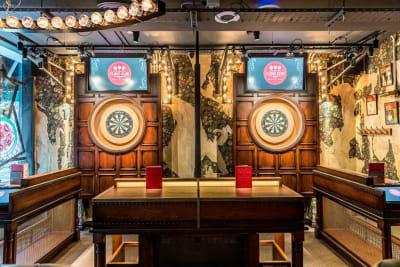 Fight Club Darts - Bloomsbury Enclosure bar interior