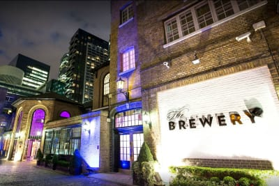the brewery - exterior