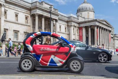 Twizy Tour London CHILLISAUCE