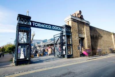 Tobacco Dock - exterior