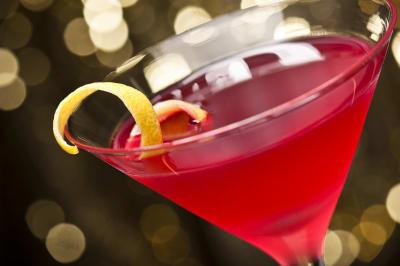 A cocktail galss