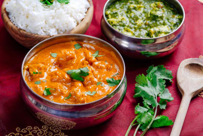 Delicious looking curries