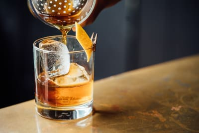 A Whisky cocktail