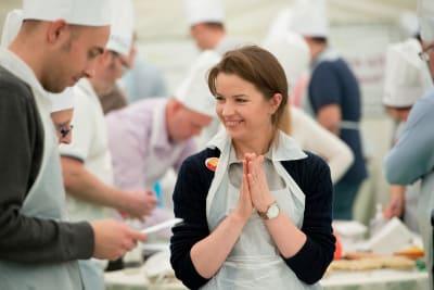 Bake off cookery workshop for Fresh Direct