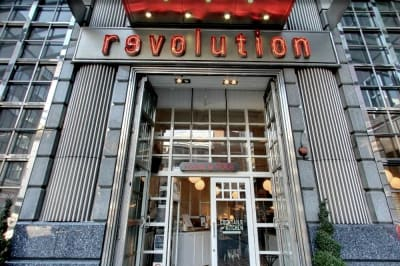 Revolution American Square - Front outside