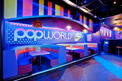 Popworld - Blackpool - interior bar