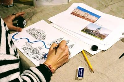 Illustrate A London Map - London