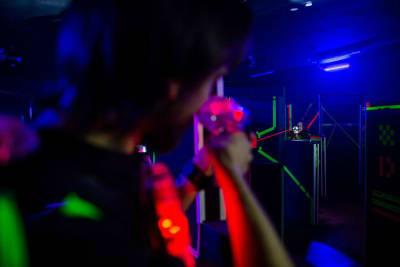 Black Fox Lasertag - interior