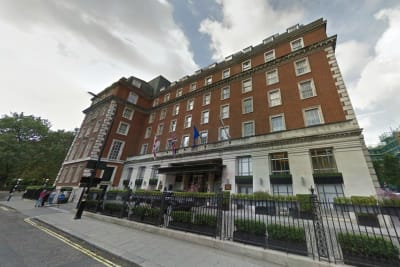 Marriott London Grosvenor Square hotel - exterior