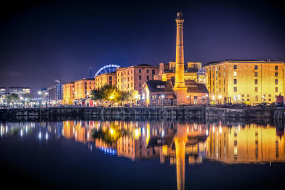 Liverpool centre Albert Docks