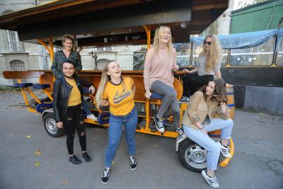 Budapest Beer Bike Hen Group