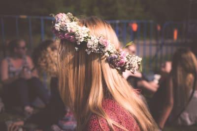 Hen do themes - flower crown