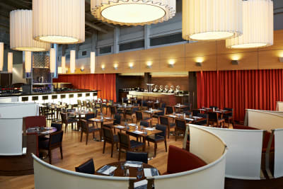 Marriott Hotel - Portsmouth - dining area