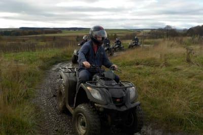 Battlezone Paintball Edinburgh - quad bike track 2