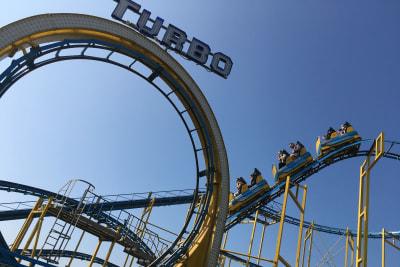 Brighton Pier rides turbo