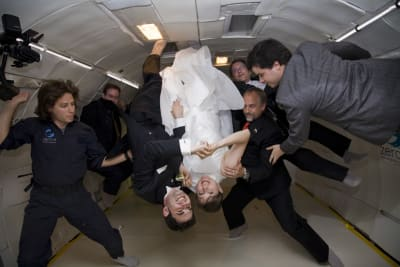 Extreme Wedding Destinations - In space