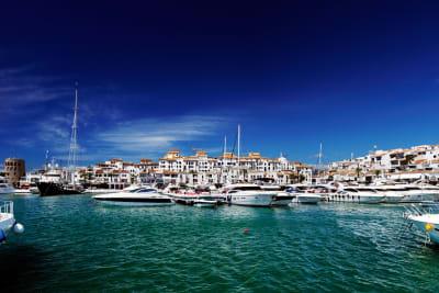 Marbella harbour