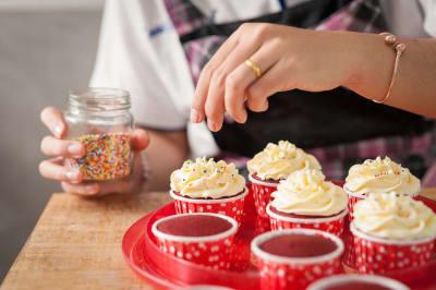 Cupcake making session