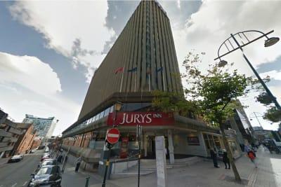 jurys inn birmingham - exterior