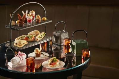 Afternoon Tea, The Tale Bar Playboy Club, London