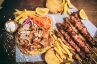 A greek meal