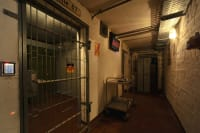 A cell room used for escape rooms puzzle