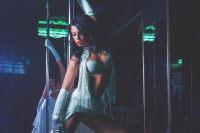 sexy stripper on pole