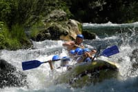 rafting cetina - course