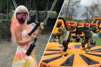 Paintball and Inflatable Games