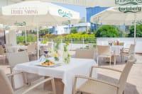 Swing Hotel - outdoor terrace area