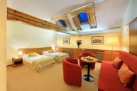 Grand Hotel Brno - bedroom