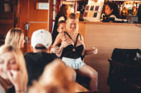 Prague Riverboat Adria Stag Boat stripper
