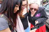 A hen party on a GPS treasure hunt