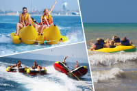 Ringo Ride, Banana Boat and The Tornado multi activity choice