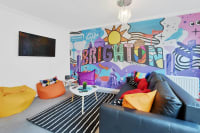 Brighton's Best BIG House living room wall paint