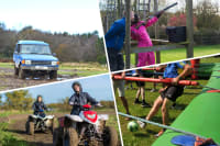 Quads, Blind Driving, Clays & Human Table Football hen