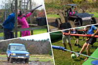 Rage Buggies, Blind Driving, Clays & Human Table Football