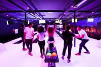 Powerzone - Amsterdam group playing bowling