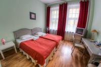 Hotel Viktorija - Twin bedroom riga