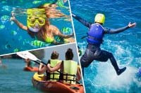 Kayaking, Snorkelling & Cliff Jumping hen