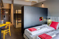 Meininger Budapest Great Market Hall bedrooms