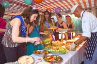 City cruises buffet